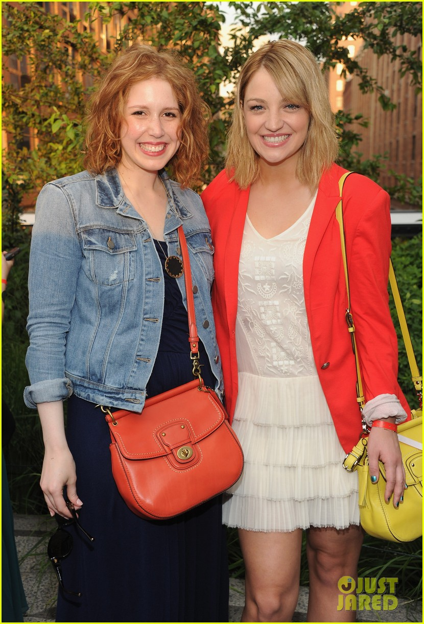 dianna agron chrissy teigen coach summer party 062677254