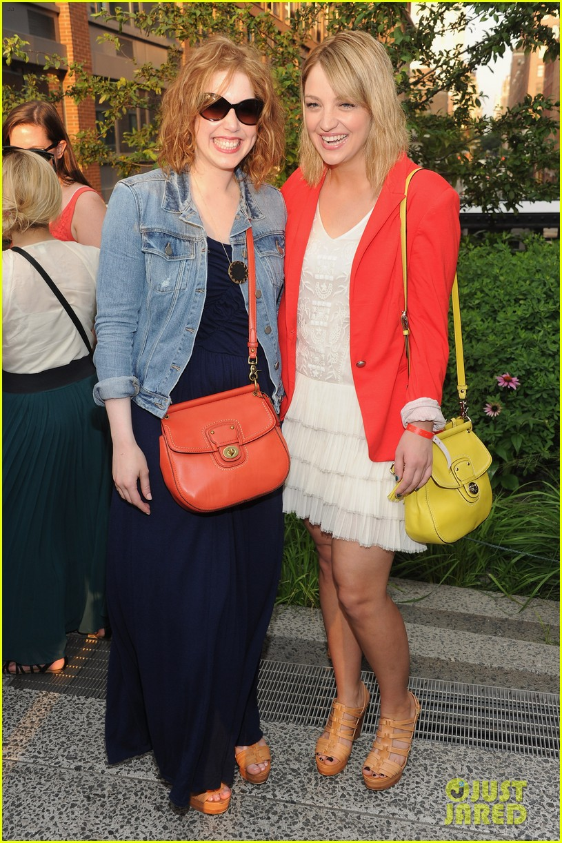 dianna agron chrissy teigen coach summer party 072677255
