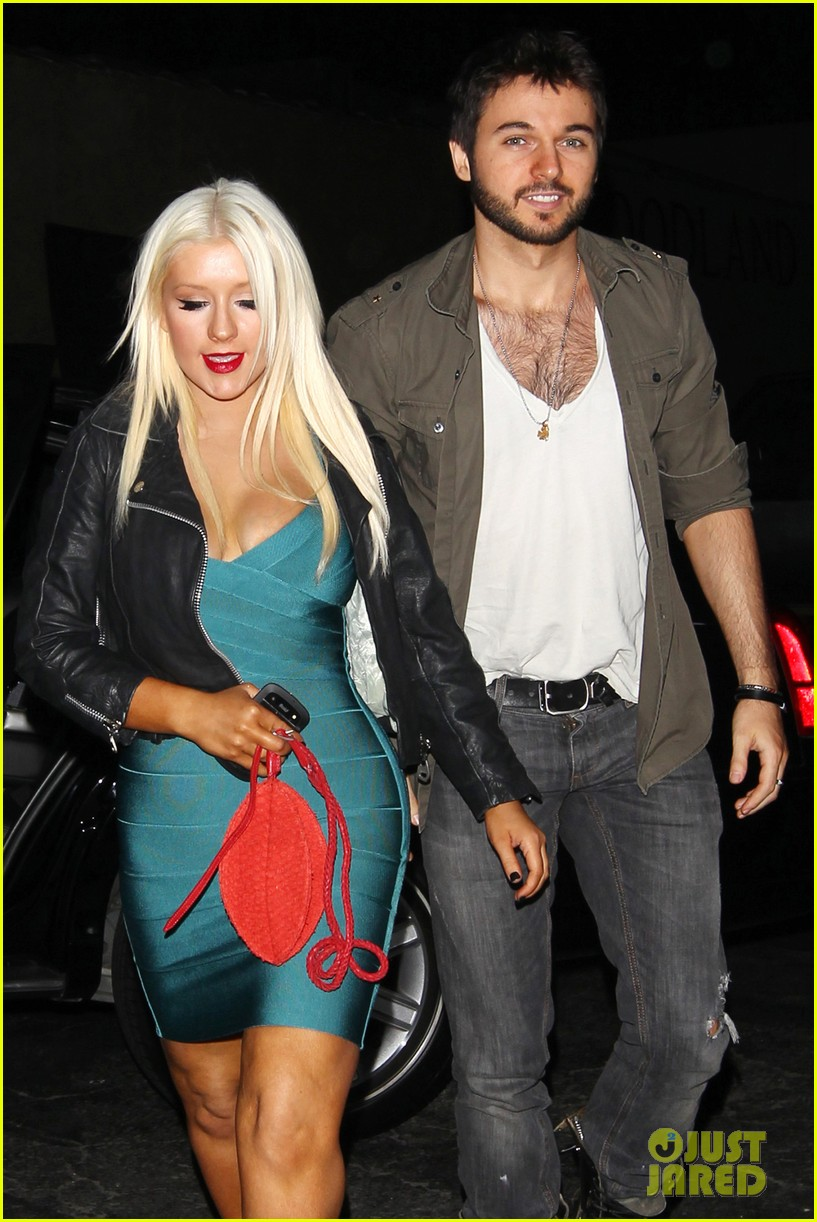 christina aguilera date night 10
