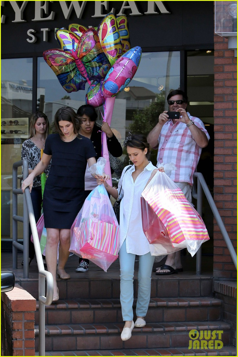 jessica alba honor celebrate 4th birthday 11