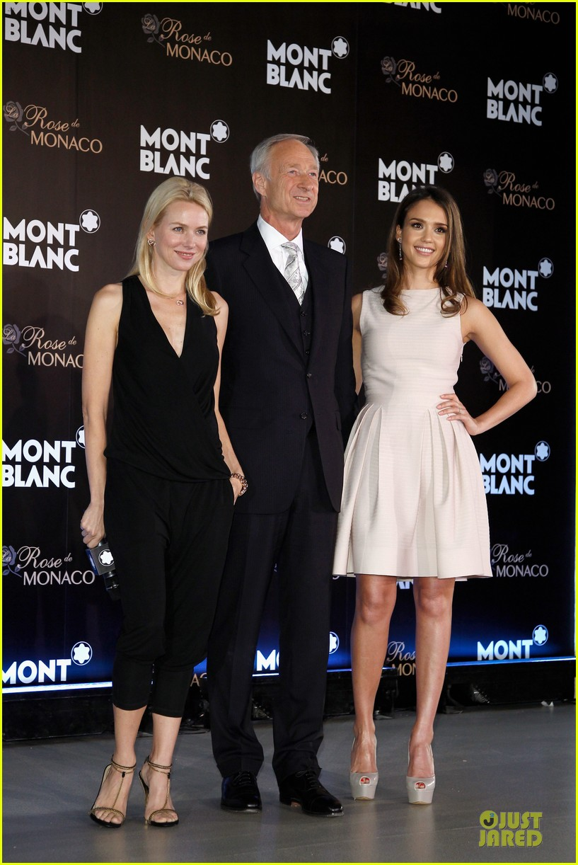 jessica alba naomi watts montblanc beijing 04a