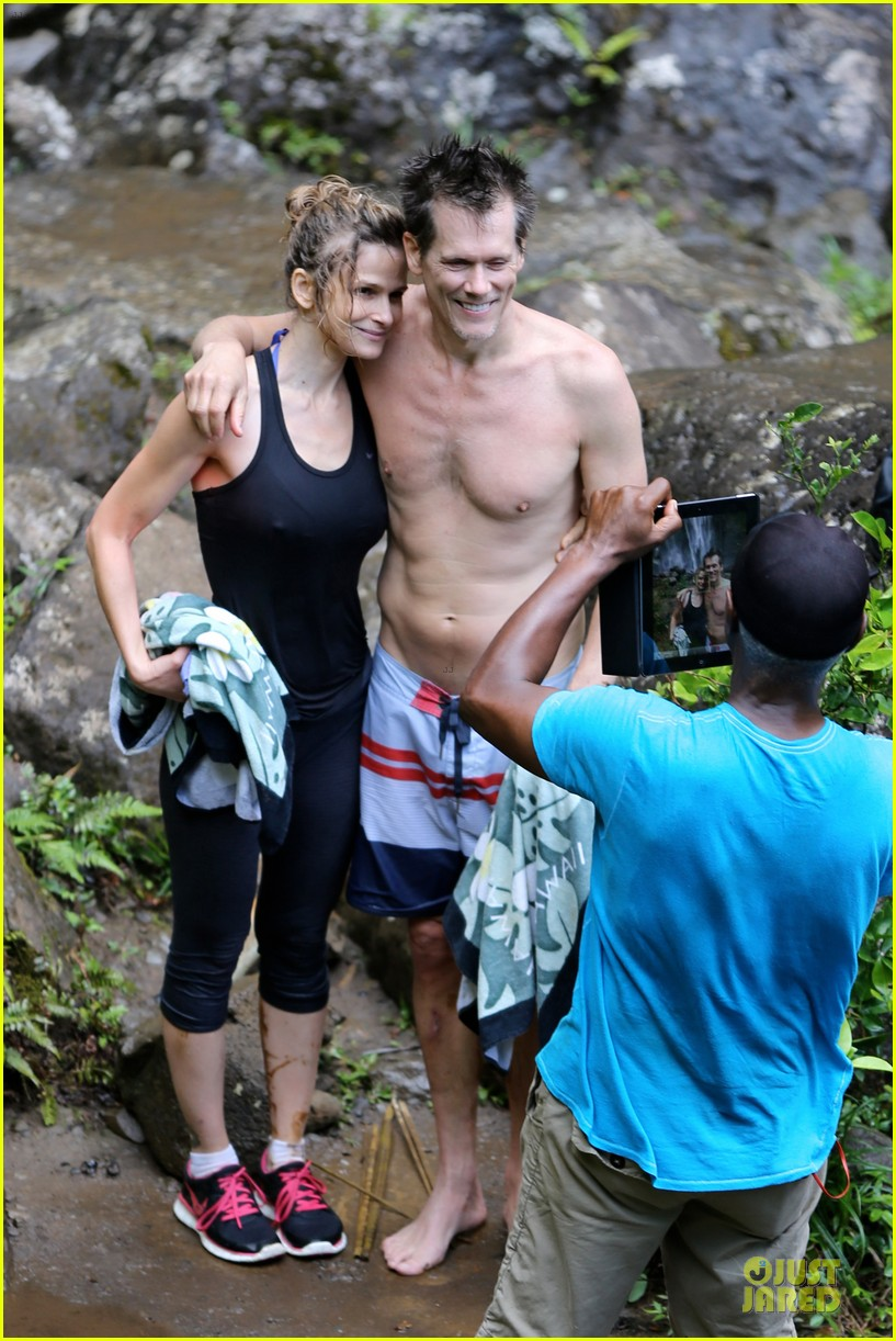 kevin bacon kyra sedgwick hawaii 012680576