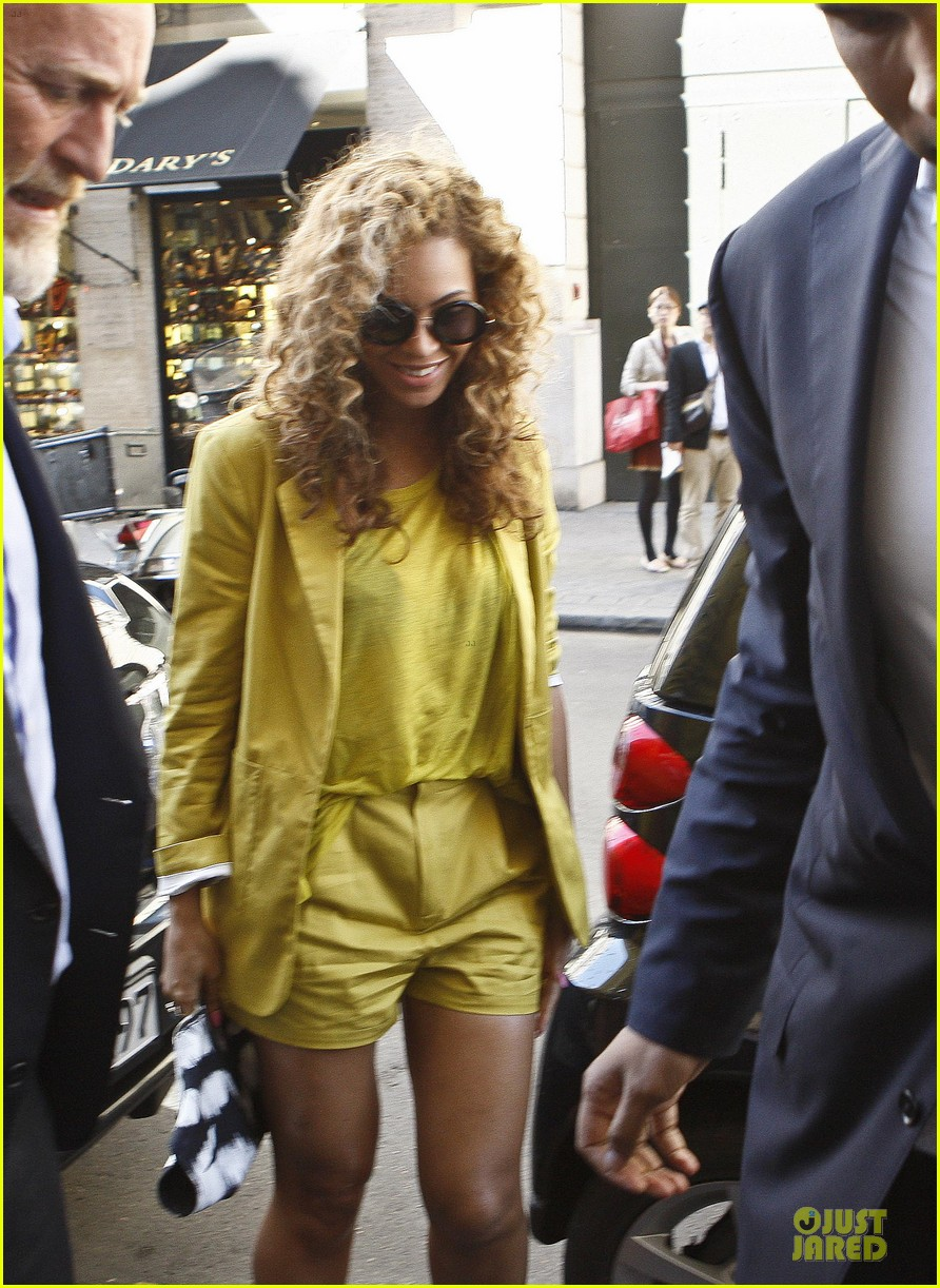 beyonce jay z hotel exit paris 06