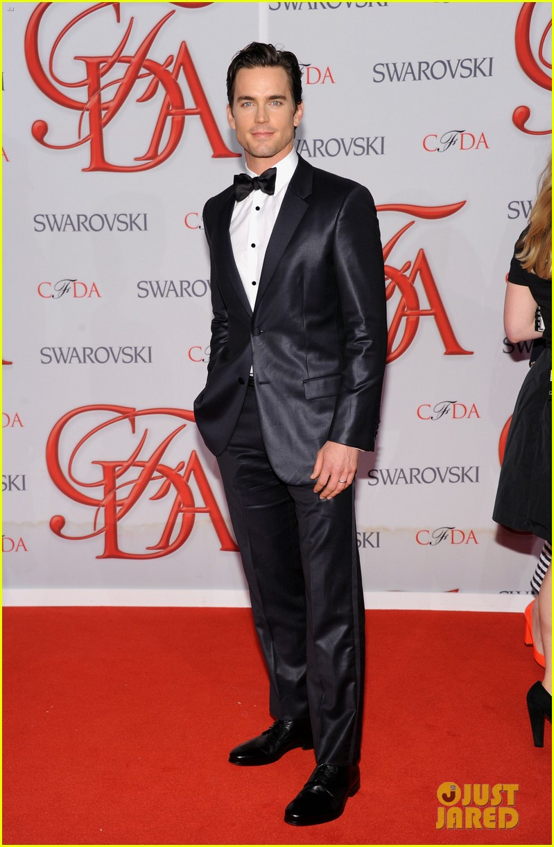 matt bomer jessica pare cfda fashion awards 2012 01