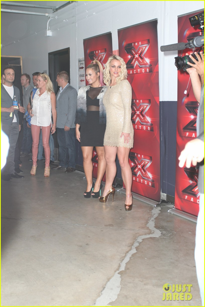 britney spears demi lovato san francisco x factor auditions 042675967