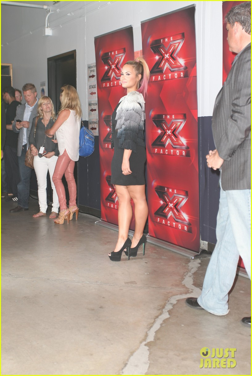 britney spears demi lovato san francisco x factor auditions 092675972
