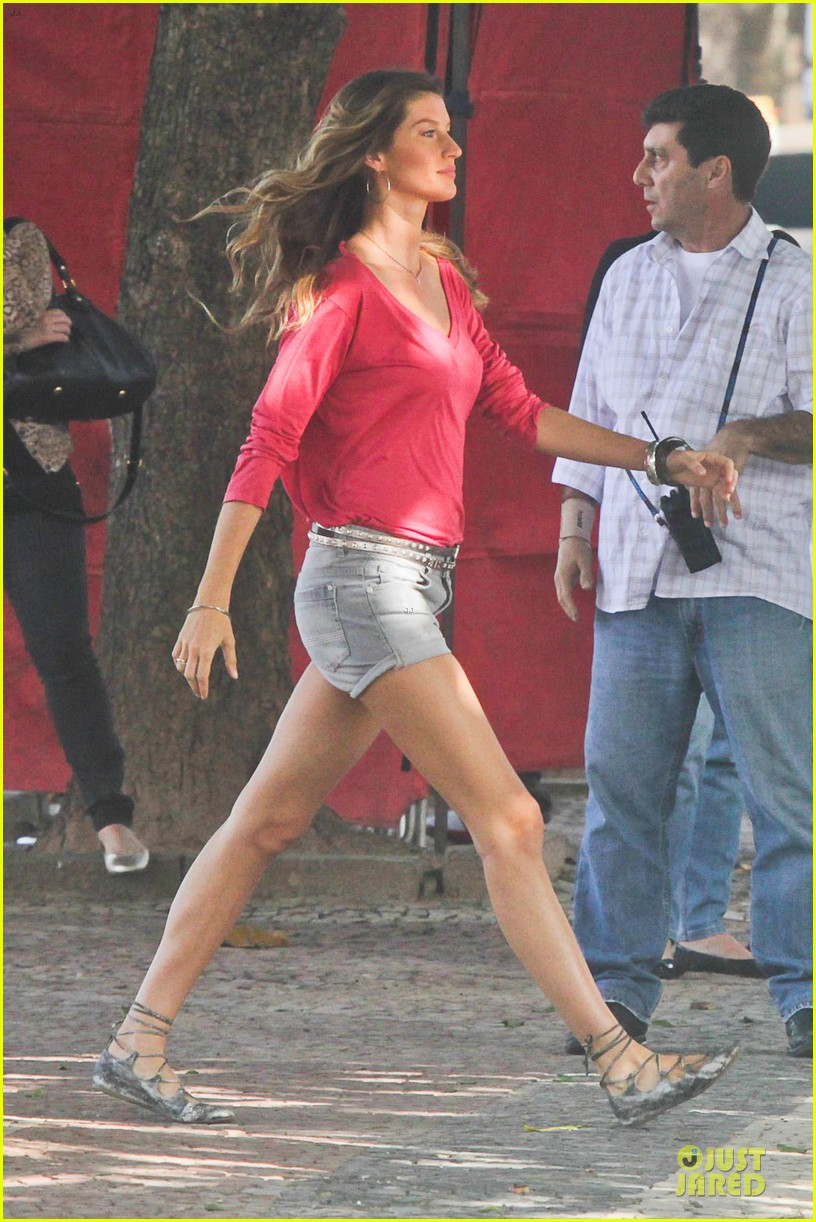 gisele bundchen commercial red rio 06