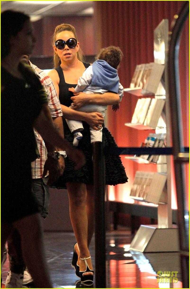 mariah carey nice airport dem babies 042671211