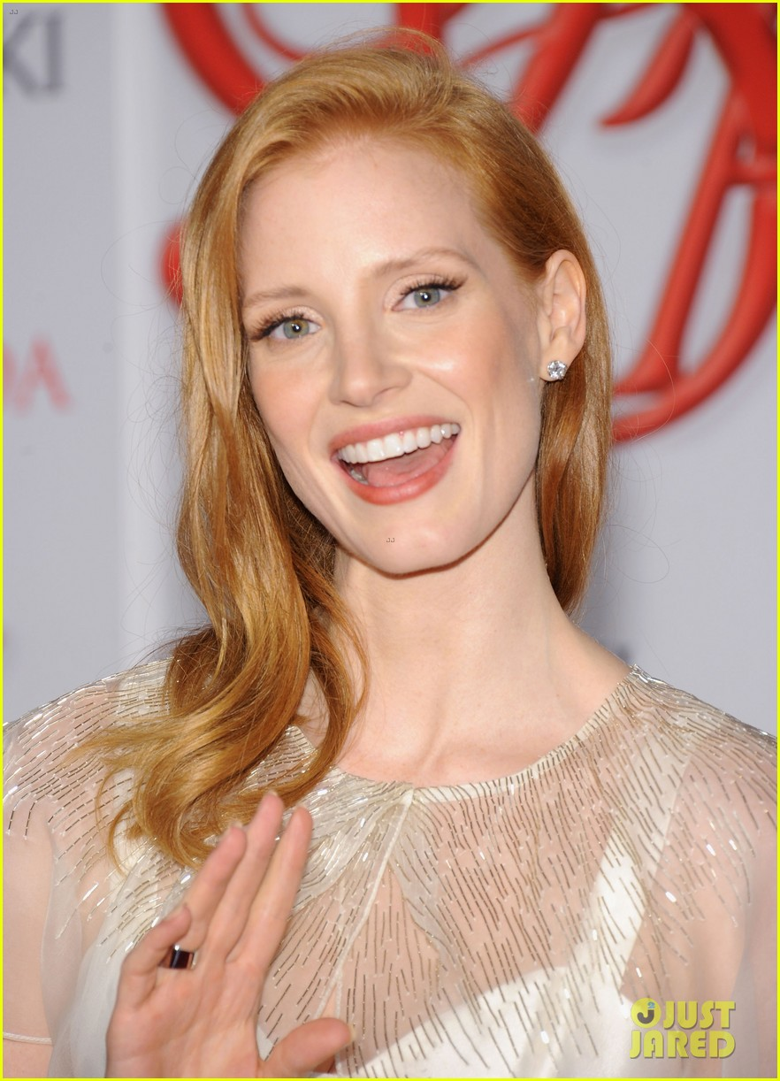 Jessica Chastain Cfda Fashion Awards 2012 Photo 2670476