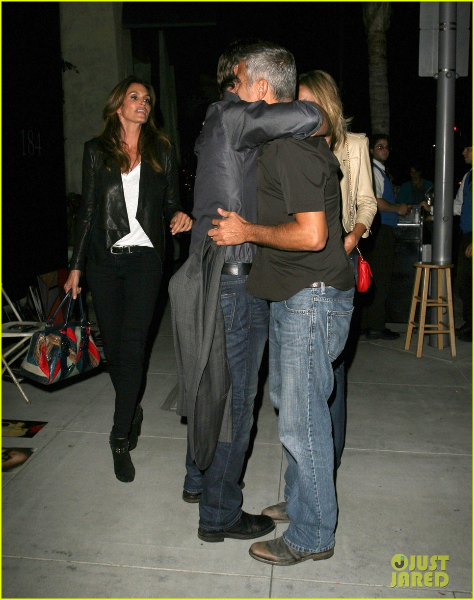george clooney stacy keibler date night 05