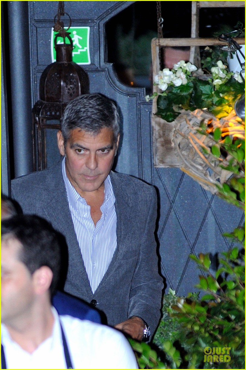george clooney stacy keibler il gatto 102675015