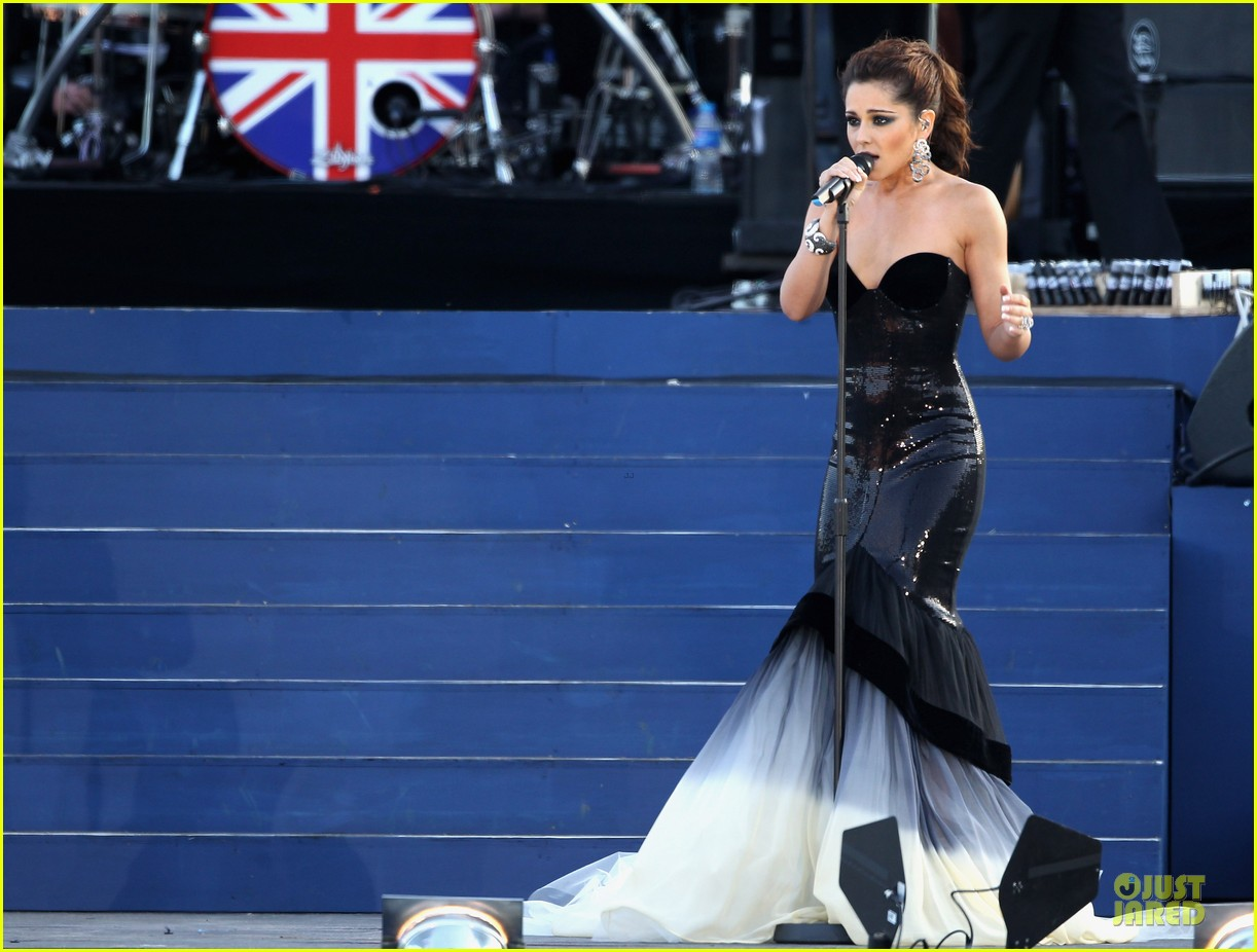 cheryl cole diamond jubilee concert 122670432