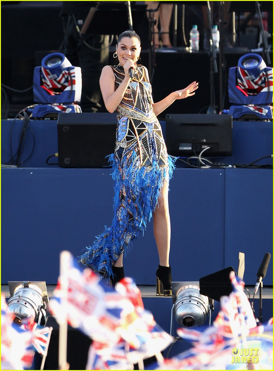 cheryl cole diamond jubilee concert 13