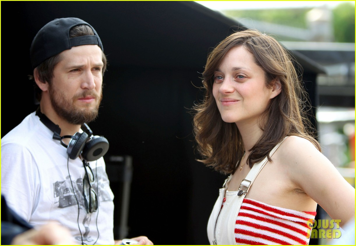 marion cotillard blood ties set with guillaume canet 042679569