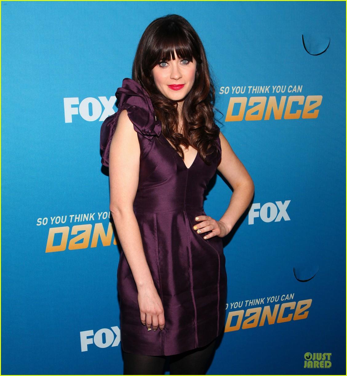 zooey deschanel so you think you can dance 092680511