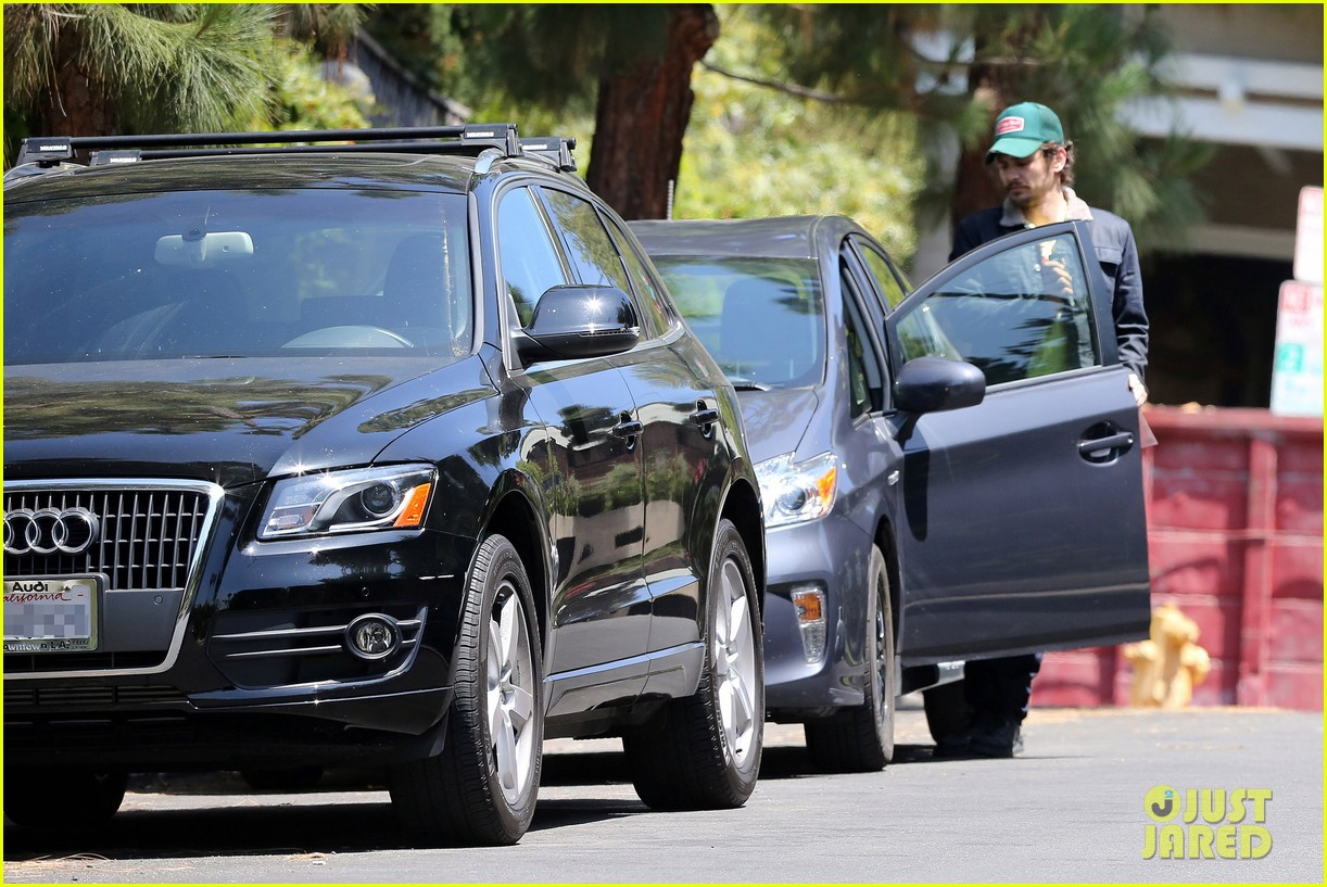 photo of James Franco  - car