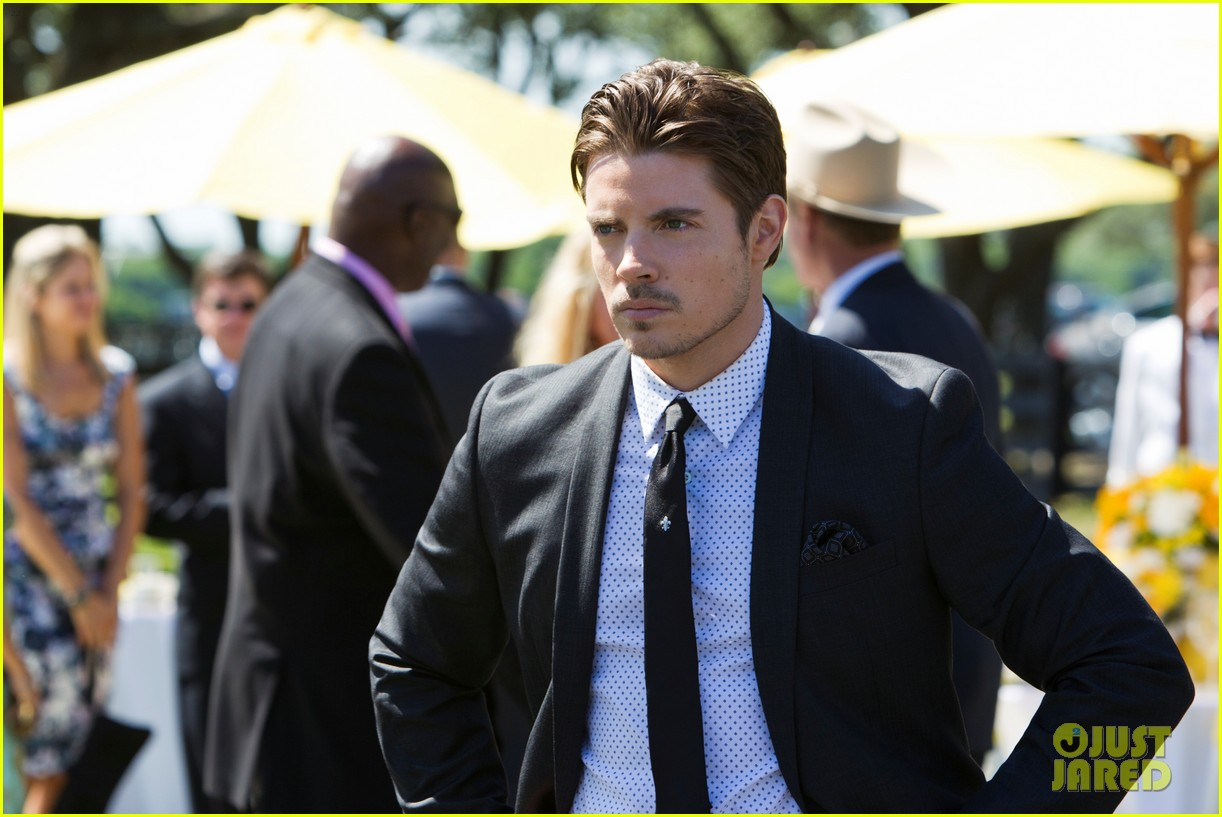 josh henderson shirtless new dallas promo 152672296