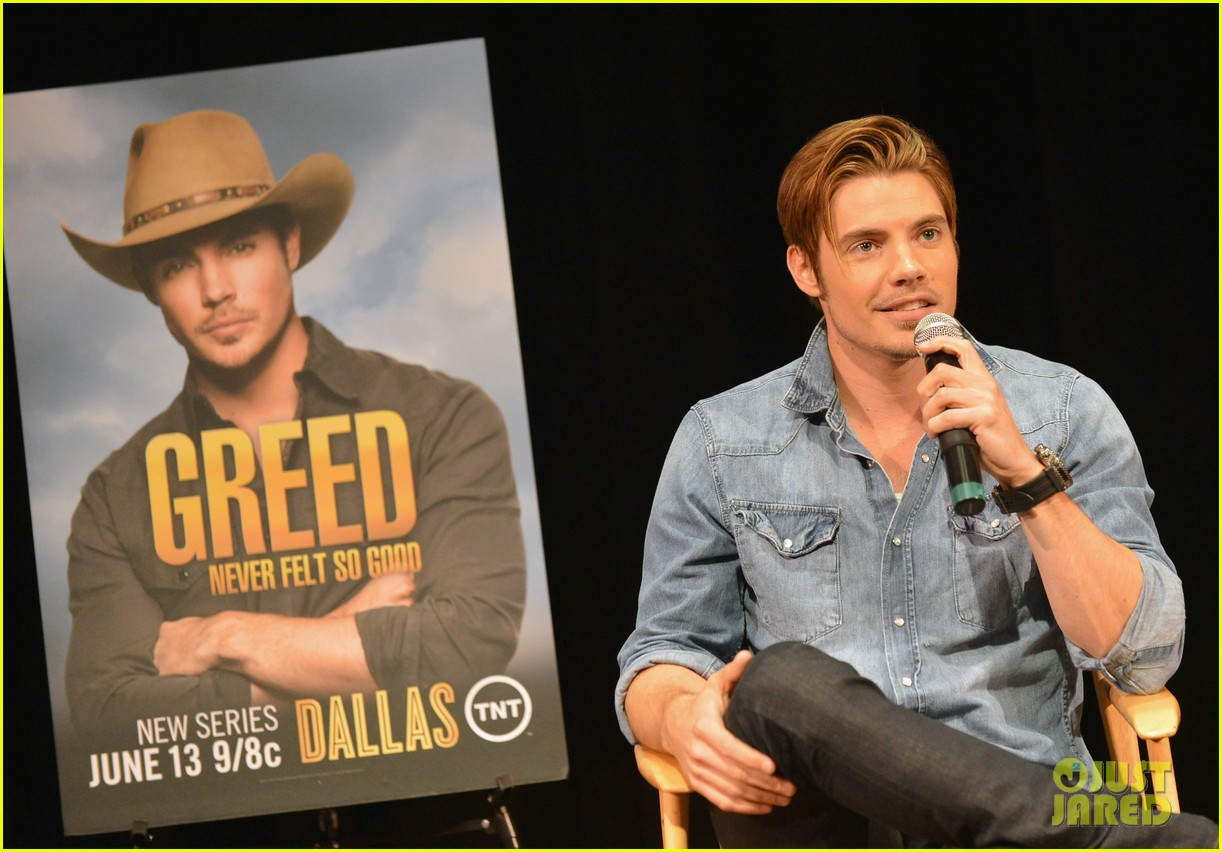 josh henderson linda gray dallas screening cma fest 13