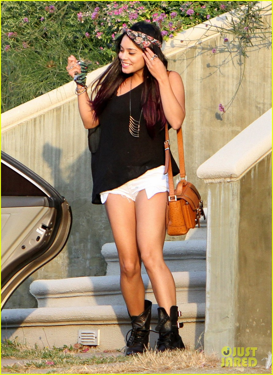 hudgens purple hair 15