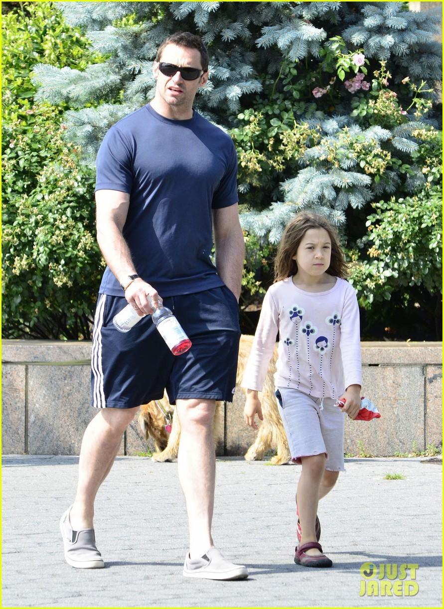 hugh jackman fathers day walk 042676340