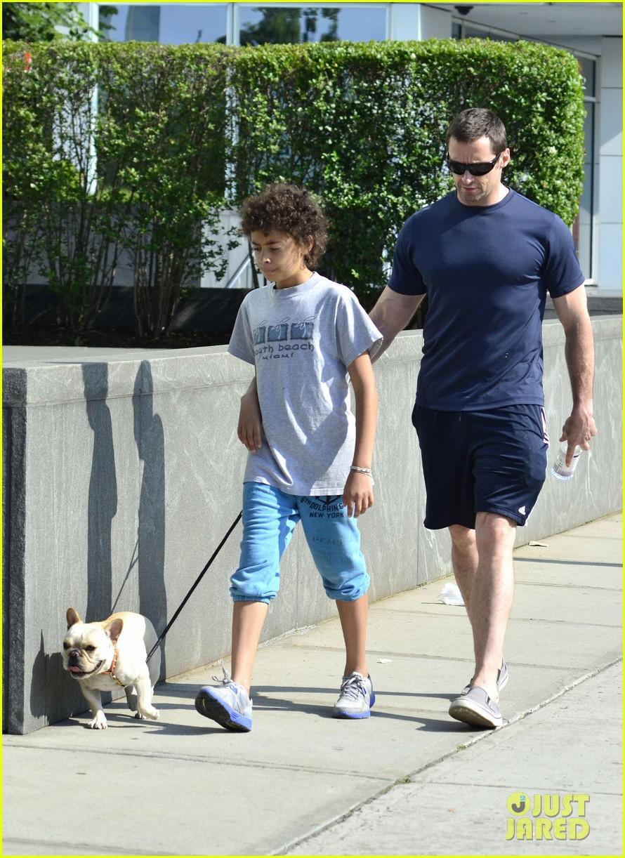 hugh jackman fathers day walk 102676346