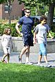 hugh jackman fathers day walk 12