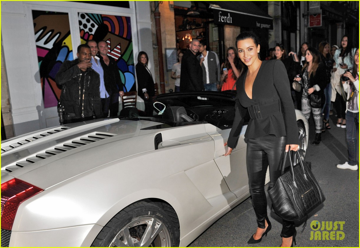 kim kardashian kanye west fancy night out 022676730