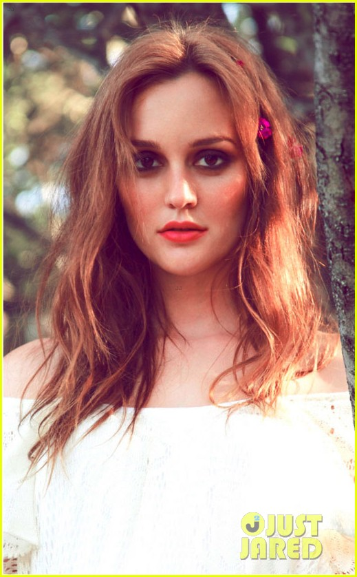 leighton meester photo shoot check in dark 02