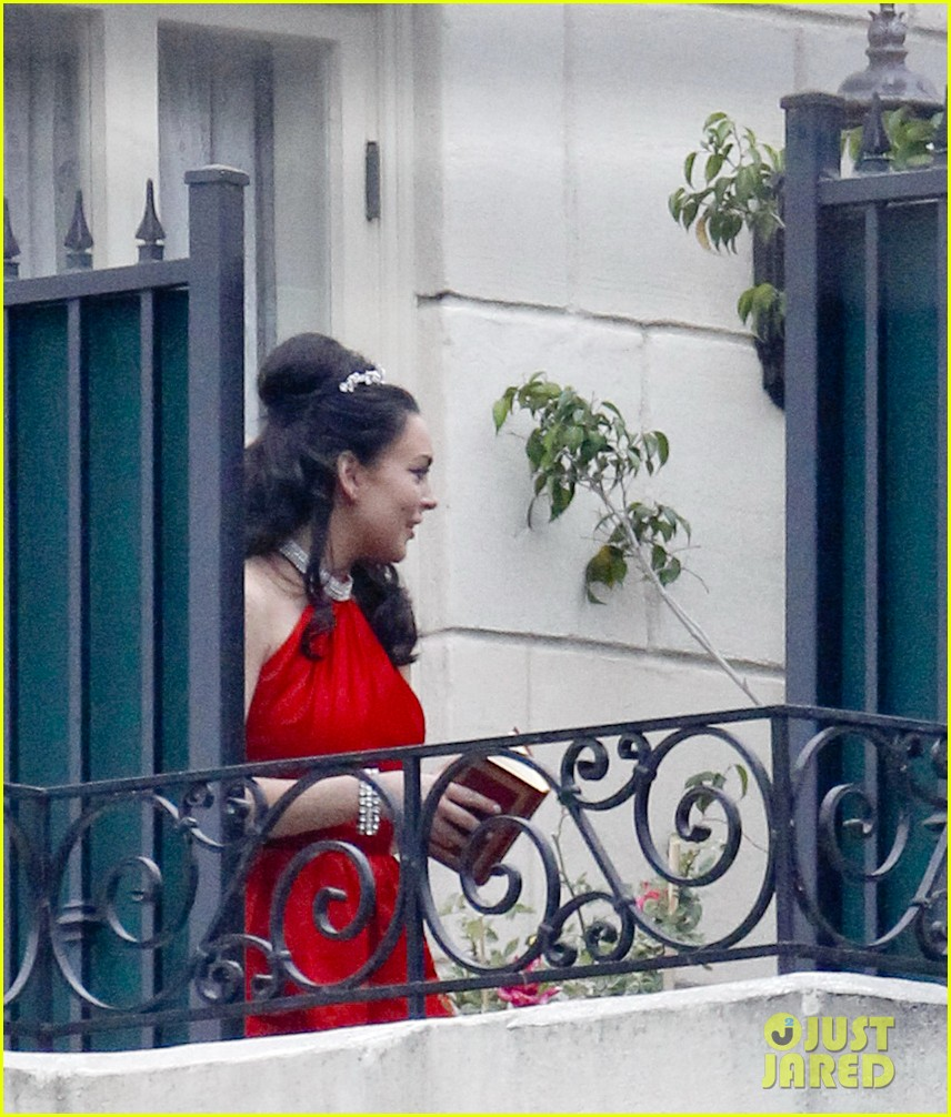 lindsay lohan tiara red dress 092676030