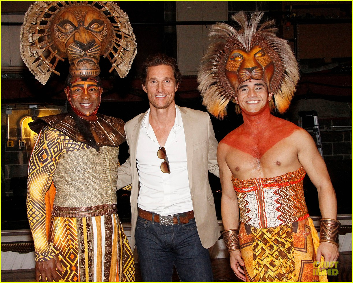 matthew mcconaughey family lion king 01