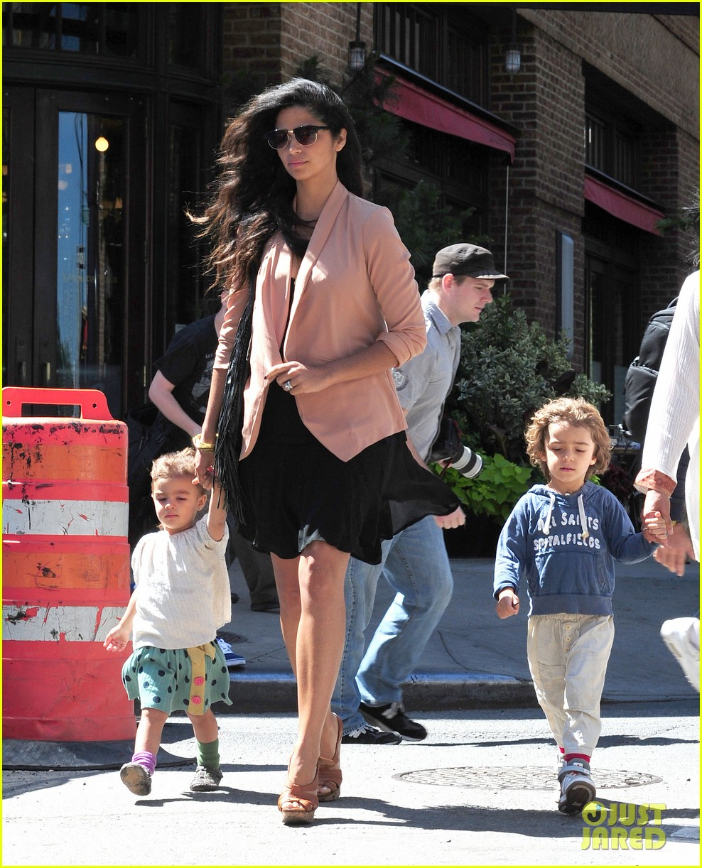matthew mcconaughey camila alves out and about 122680378