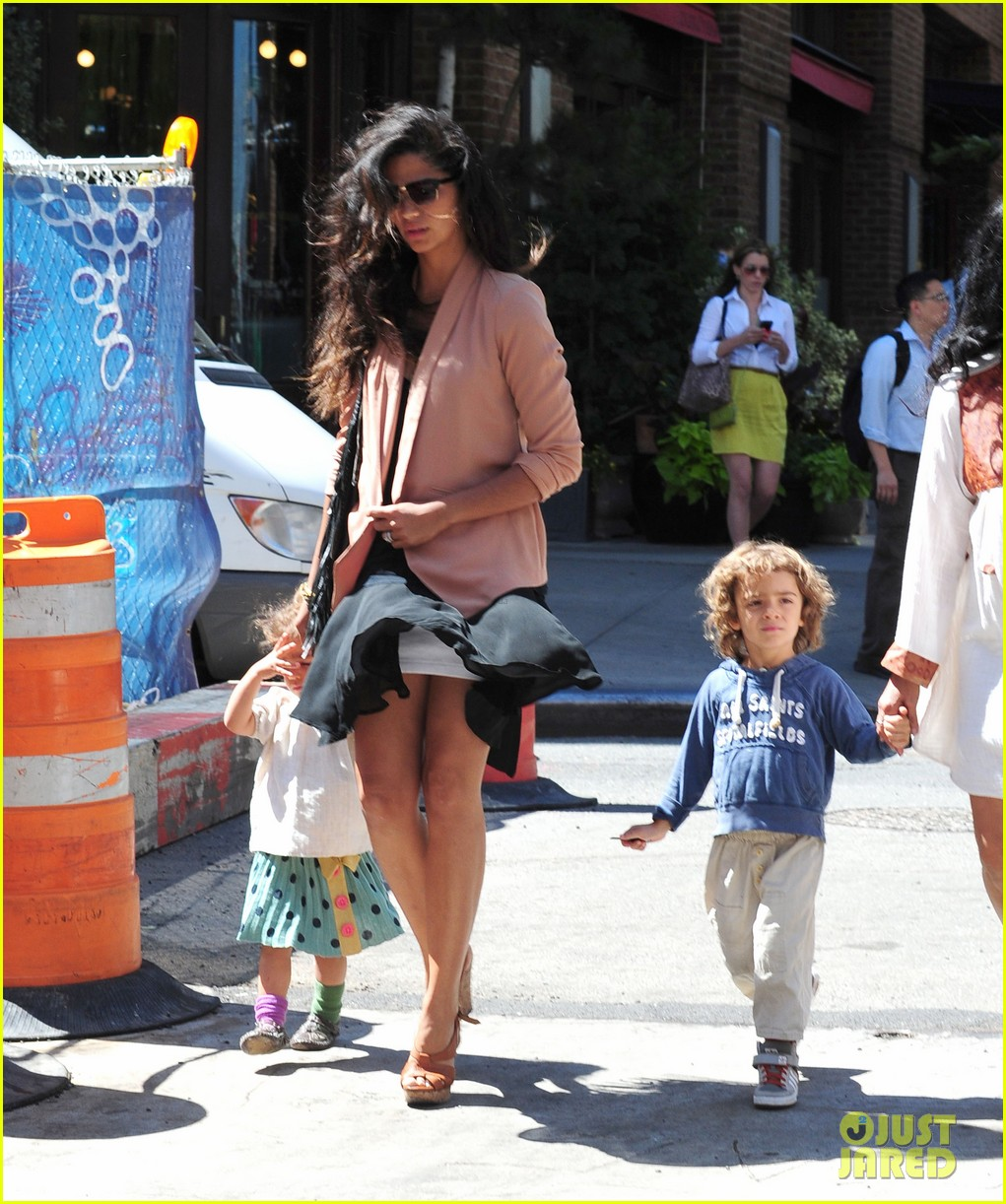 matthew mcconaughey camila alves out and about 132680379