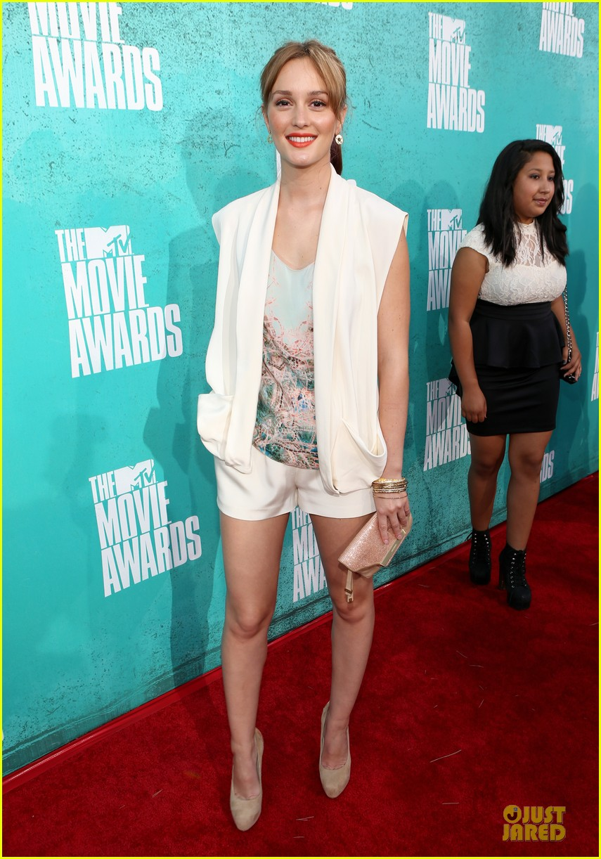 leighton meester mtv movie awards 2012 01