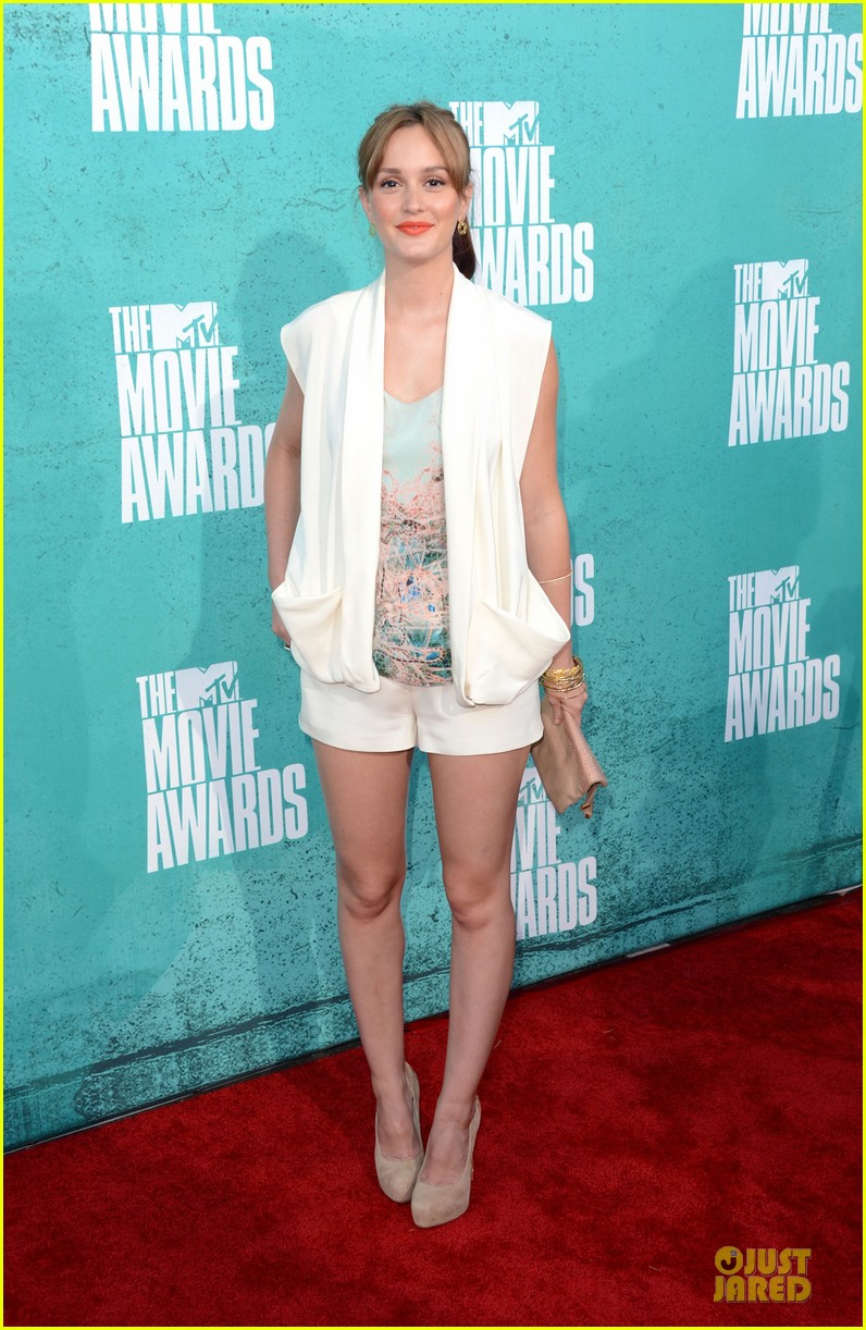 leighton meester mtv movie awards 2012 03