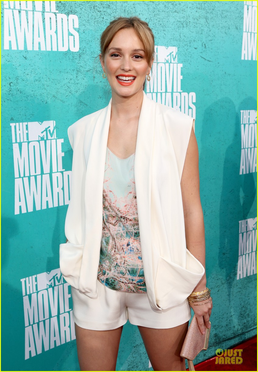 leighton meester mtv movie awards 2012 04