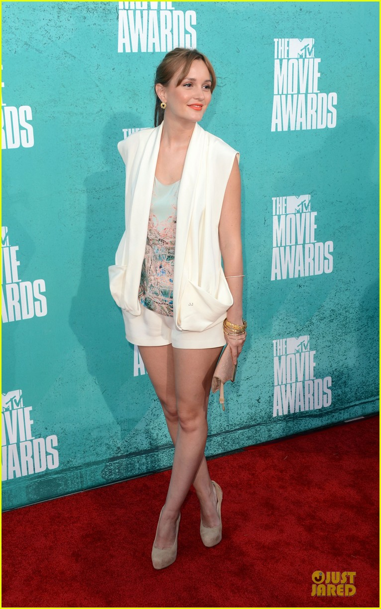 leighton meester mtv movie awards 2012 06