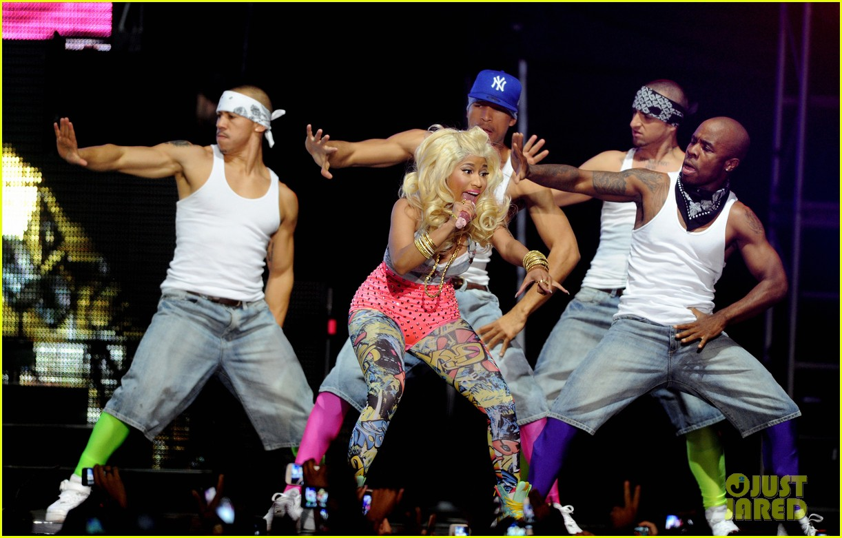 nicki minaj heineken music hall concert 132677295