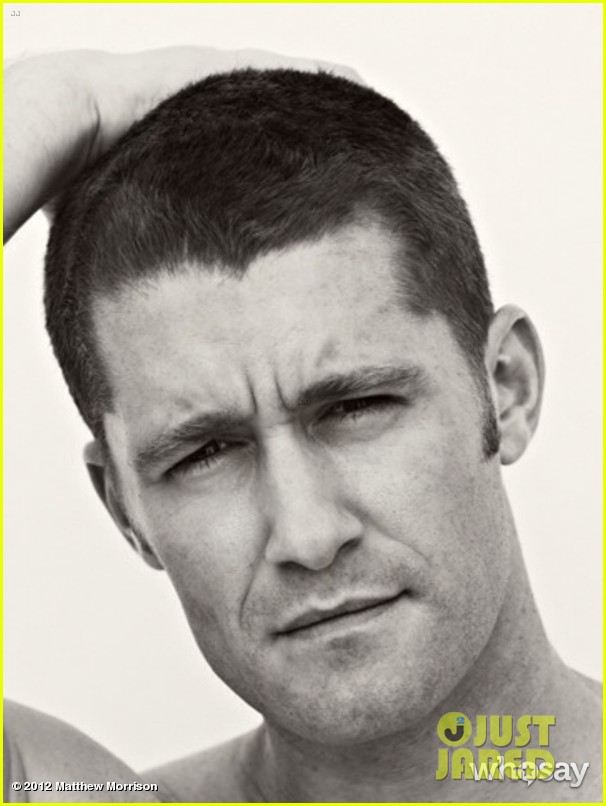 matthew morrison new buzz cut 01
