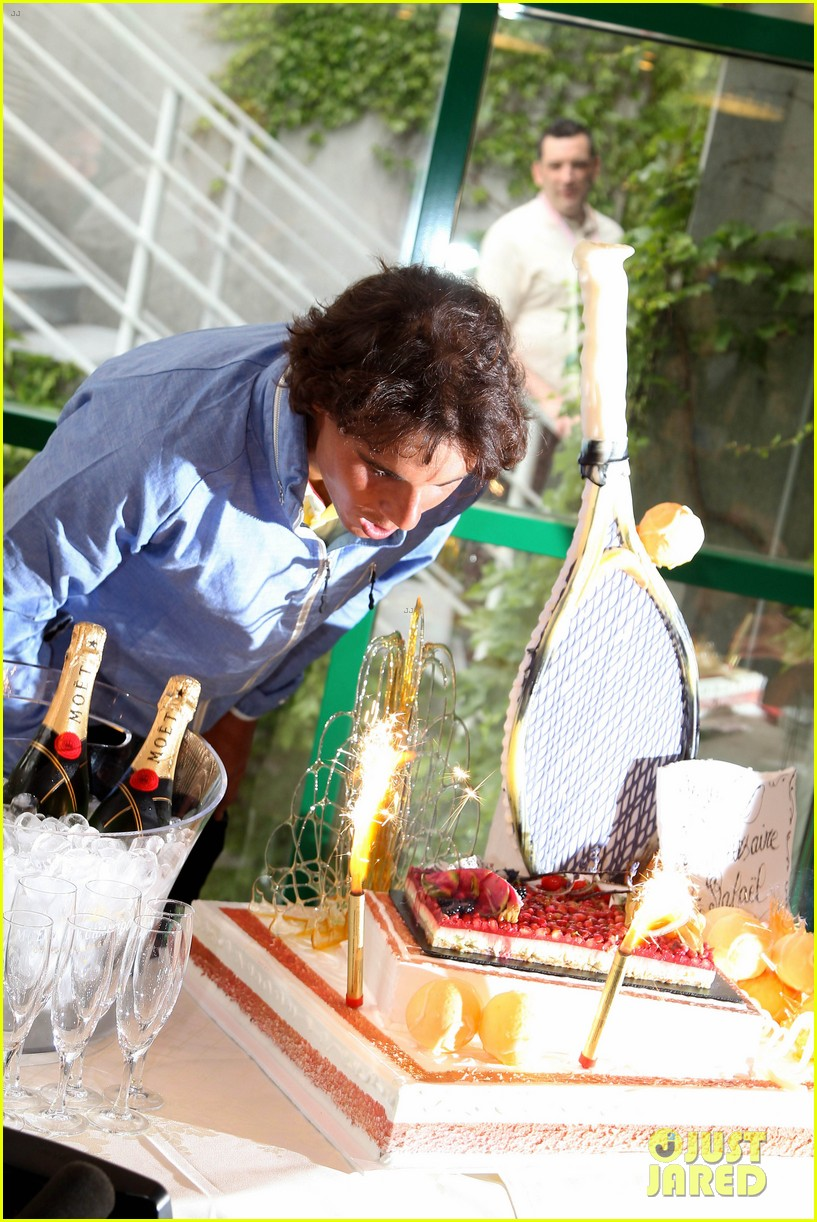 Rafael Nadal Birthday Celebration In Paris Photo