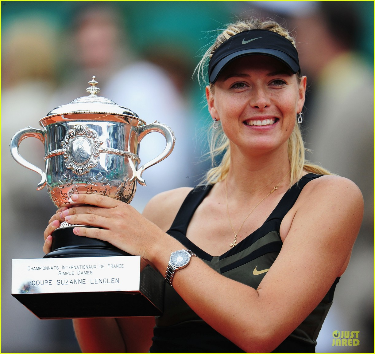 rafael nadal maria sharapova history french open 12