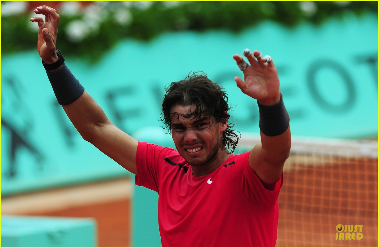 rafael nadal maria sharapova history french open 152673704