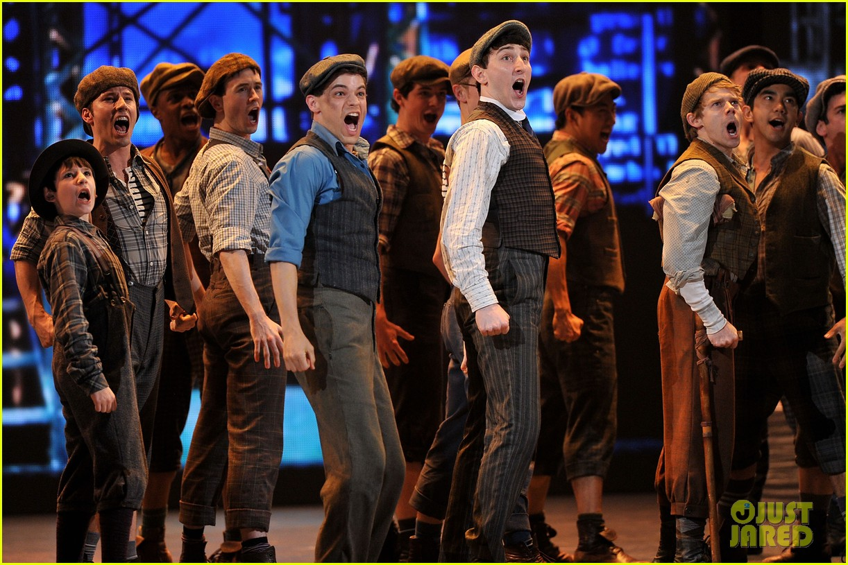 watch broadways newsies perform at tony awards 2012 03