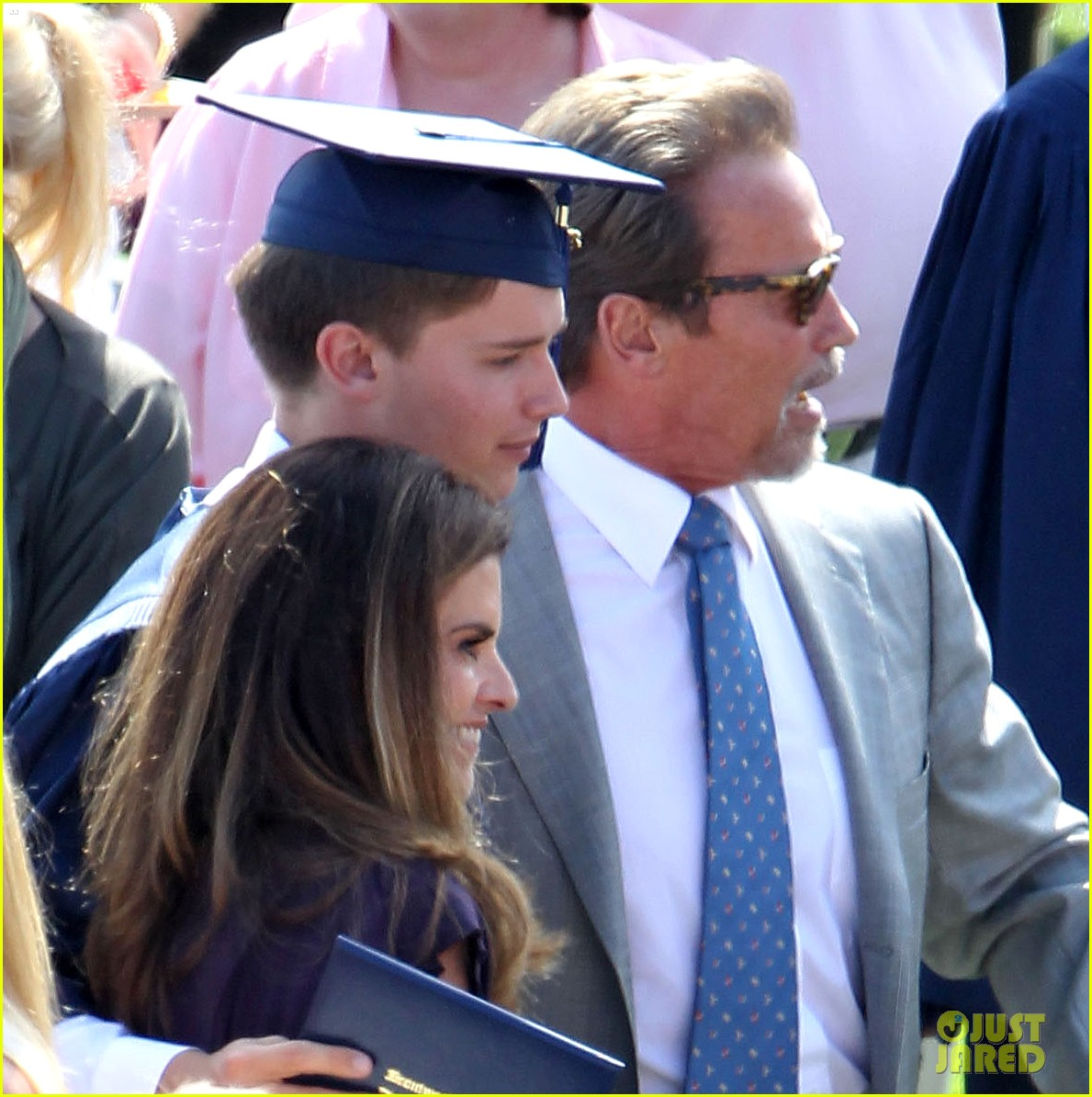 patrick schwarzenegger high school graduation 022669854