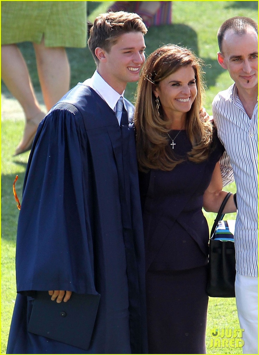 patrick schwarzenegger high school graduation 15