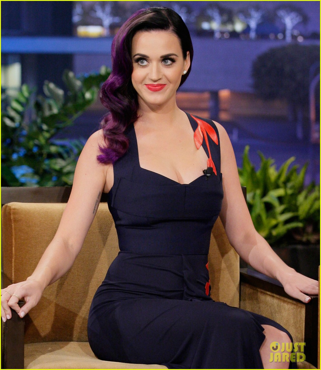 katy perry tonight show with jay leno visit 052678077