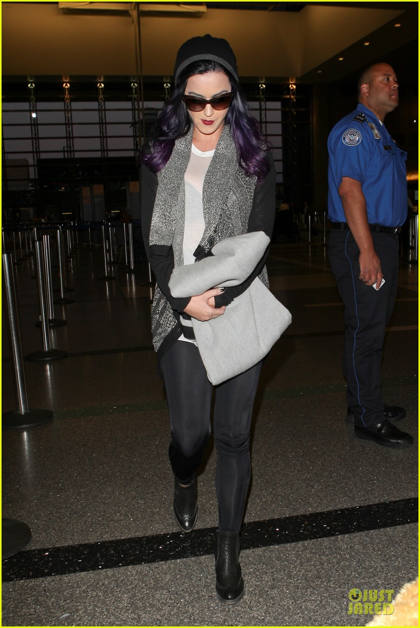katy perry lax departure 02