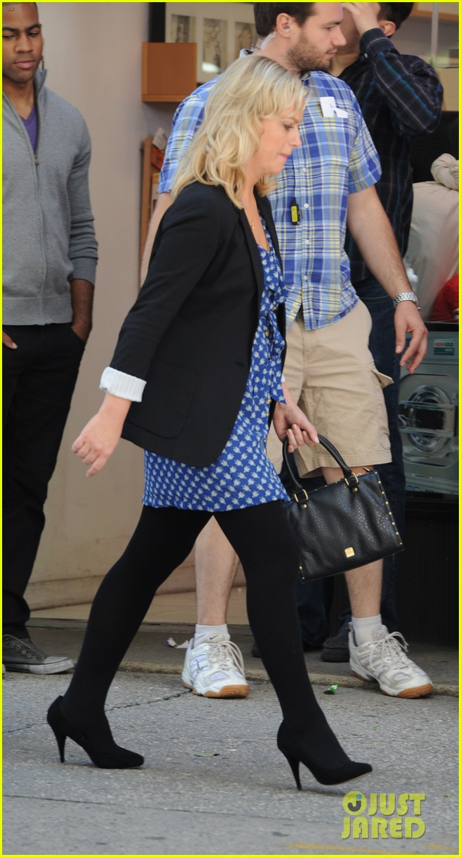 amy poehler they came together set with paul rudd 082680758