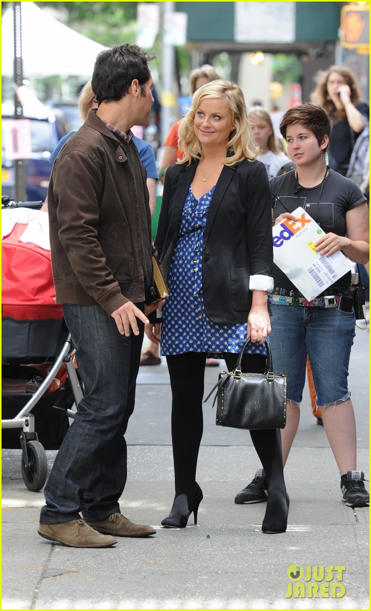 amy poehler they came together set with paul rudd 102680760