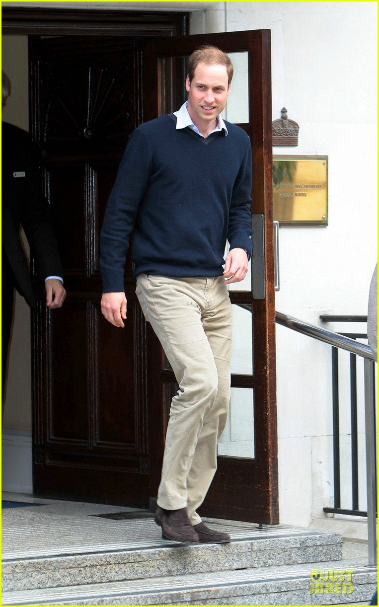 prince william harry visit grandfather hospital 012672245