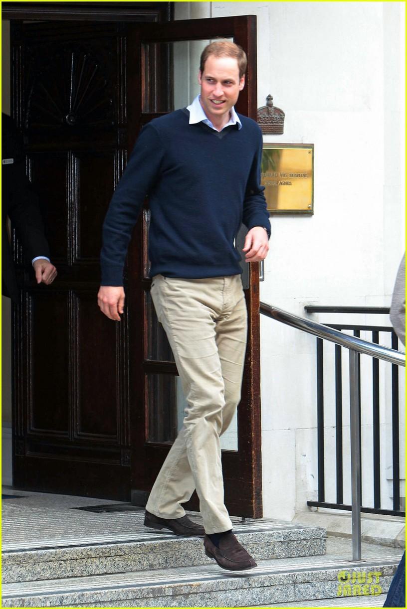 prince william harry visit grandfather hospital 072672251